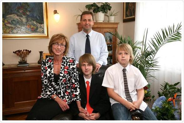 Dr. Aranyosi János családja