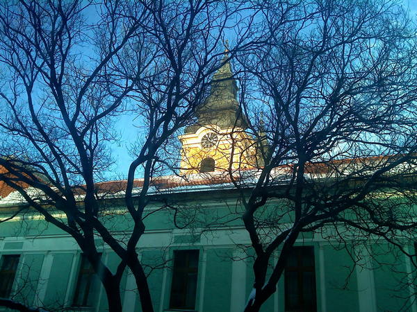 Kilátás az AranyKéz rendelő ablakából